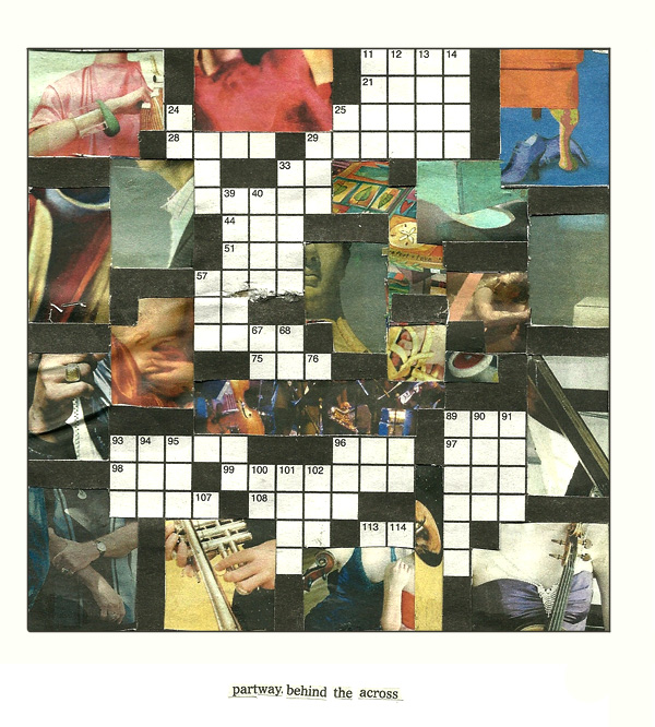crossword collage
