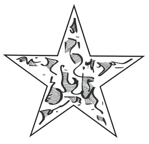 Visual Poetry: One-Star Poem