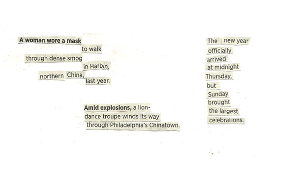 collage poem
