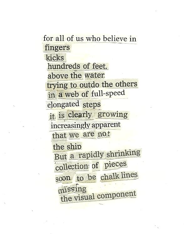 collage poem