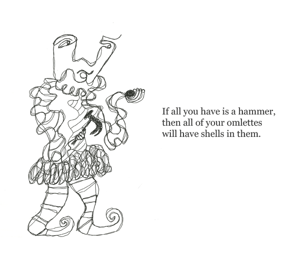 illustration / monostich