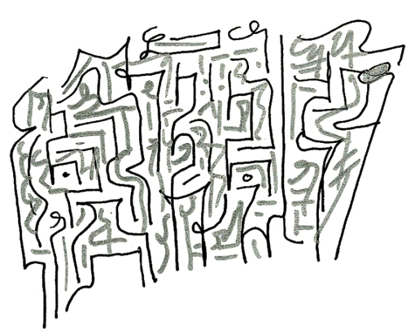 visual poetry / asemic  writing